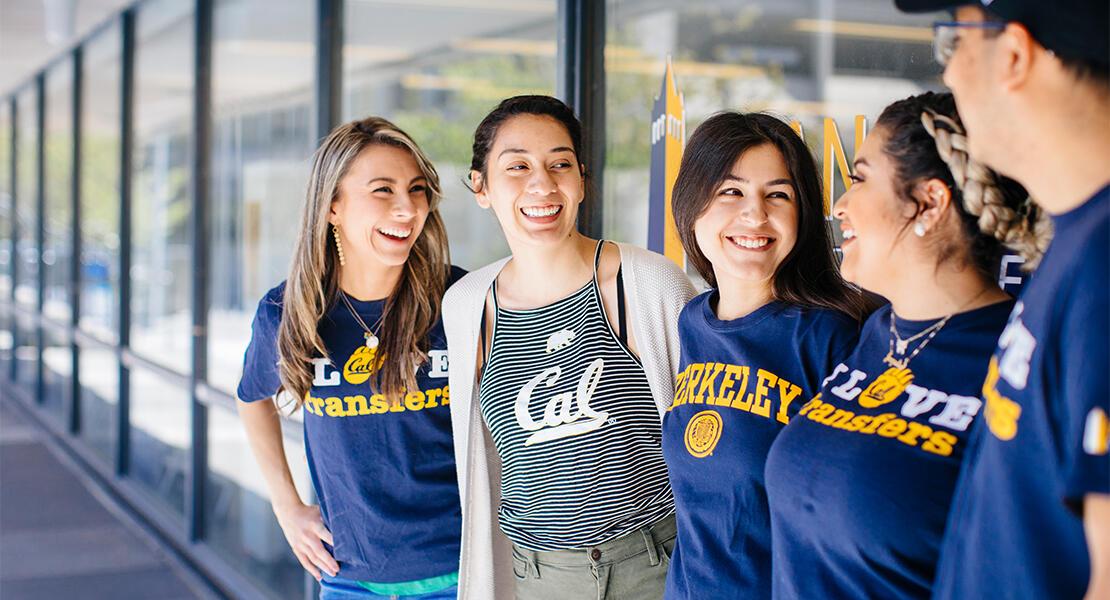 UC Berkeley transfer students.