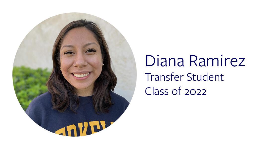 Diana Ramirez Transfer Student Class of 2022